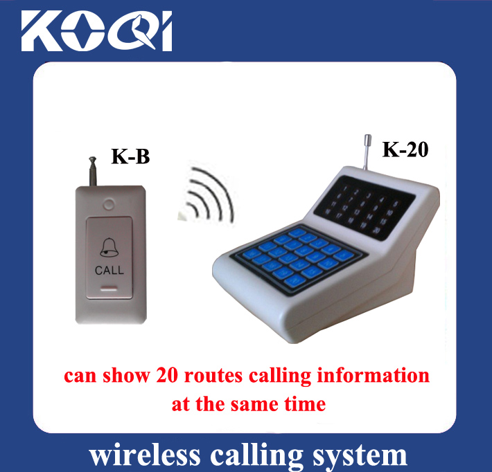 Wireless calling systems