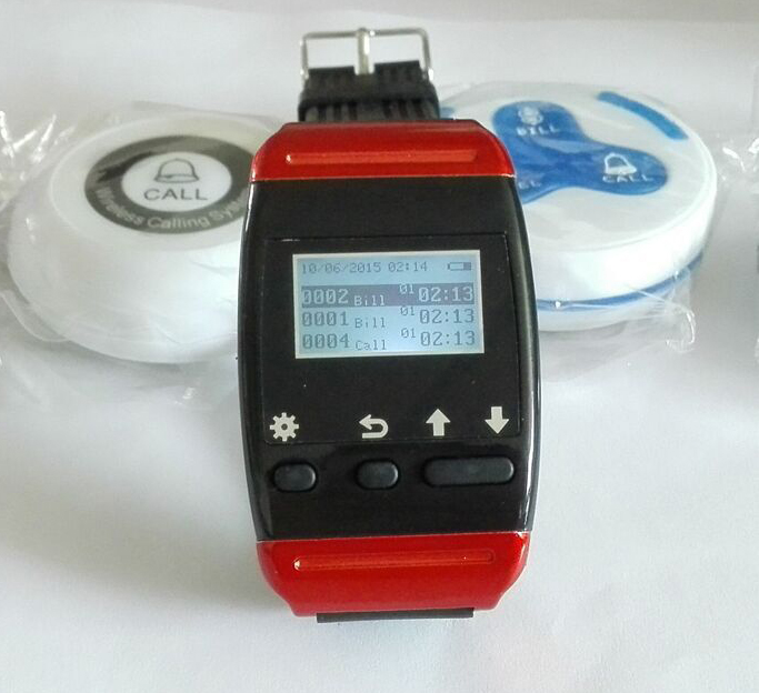 Wrist pager