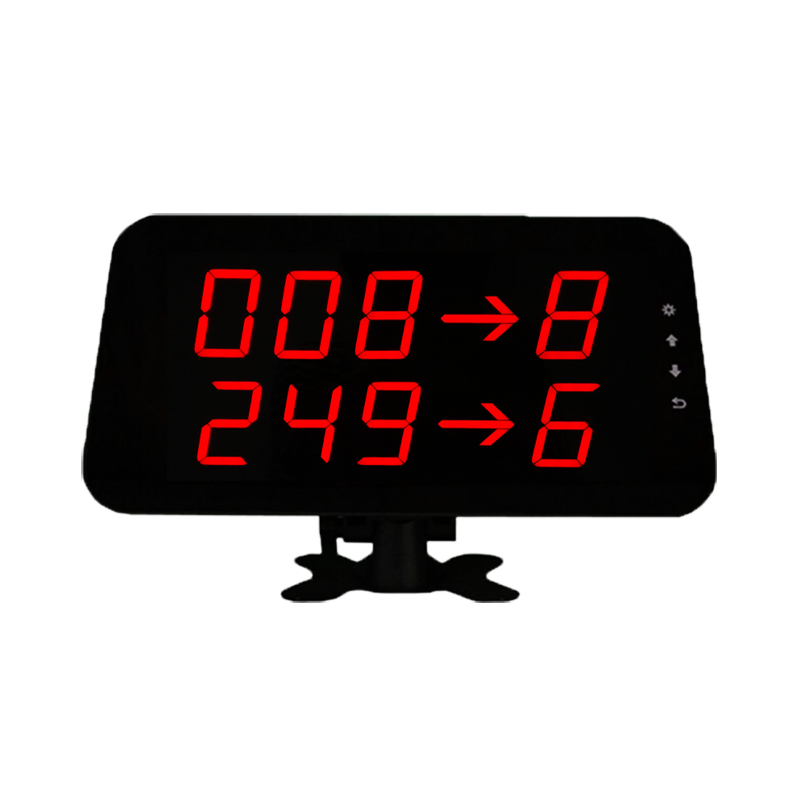 Queue manage system led display