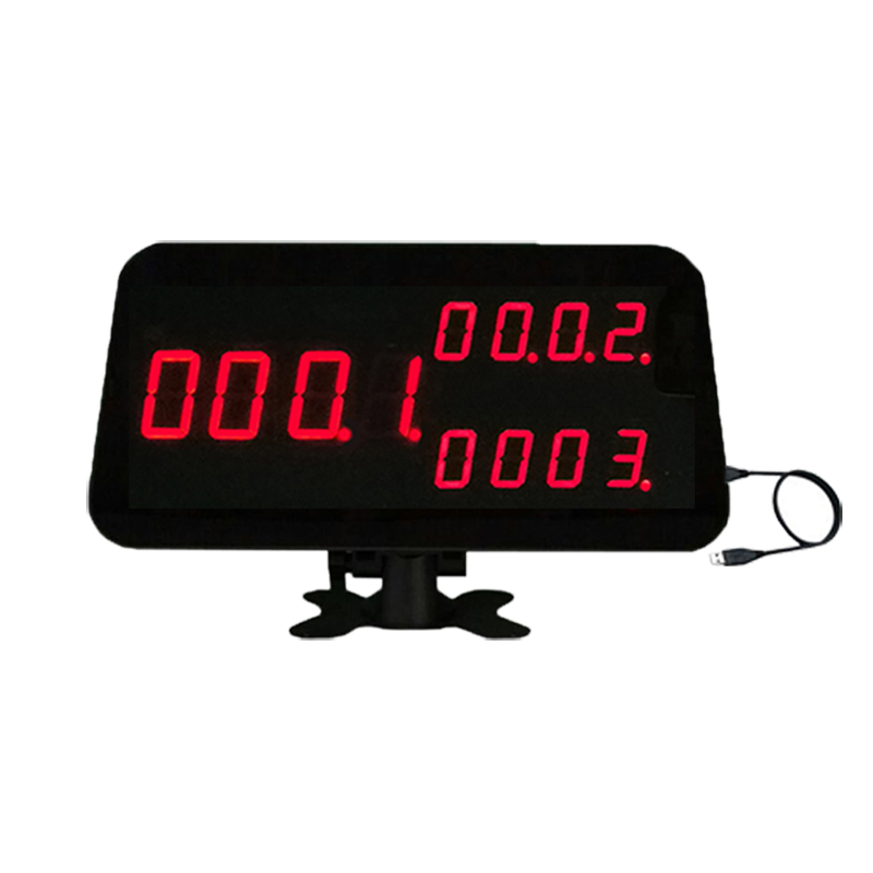 Wireless paging system display